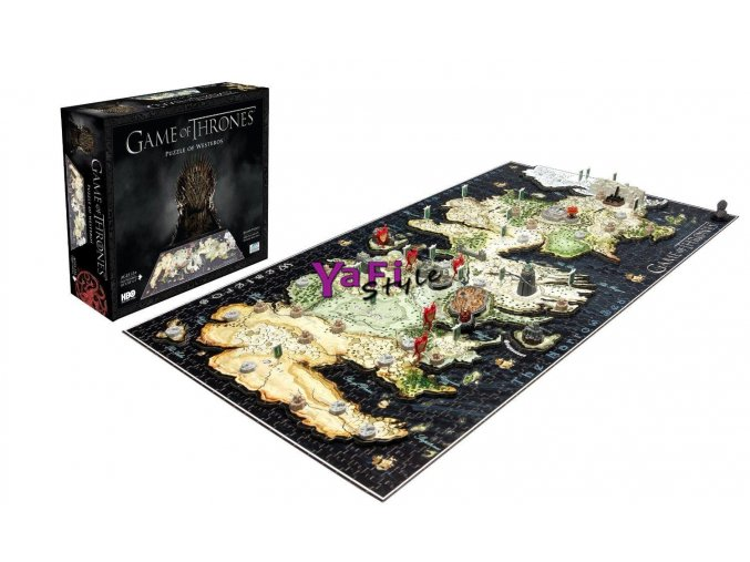 4D puzzle Hra o trůny, Game of Thrones, 1400 dílků