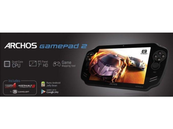 Archos GamePad 2 herní tablet konzole HDMI