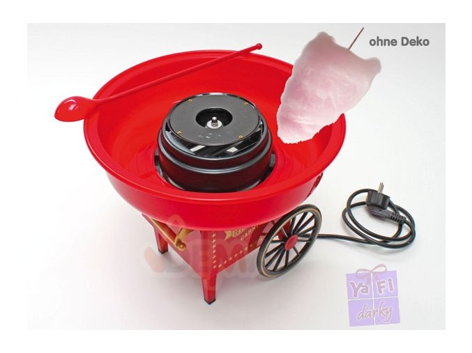 Výrobník cukrové vaty - retro design
