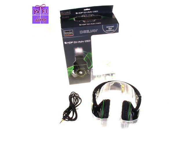 Hercules profesionální DJská DJ sluchátka G501