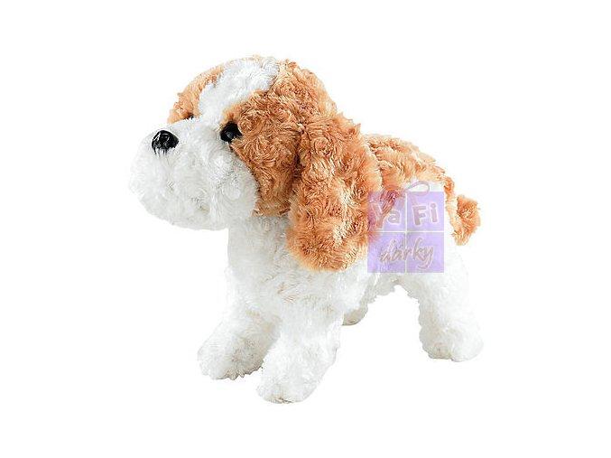 Plyšový robotický pes pejsek multifunkční