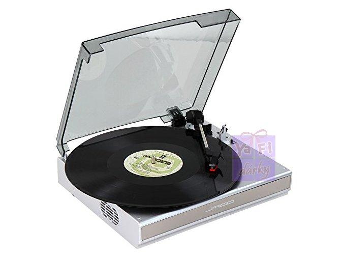 Gramofon s připojením k USB, zálohování na PC, vinyl přehrávač