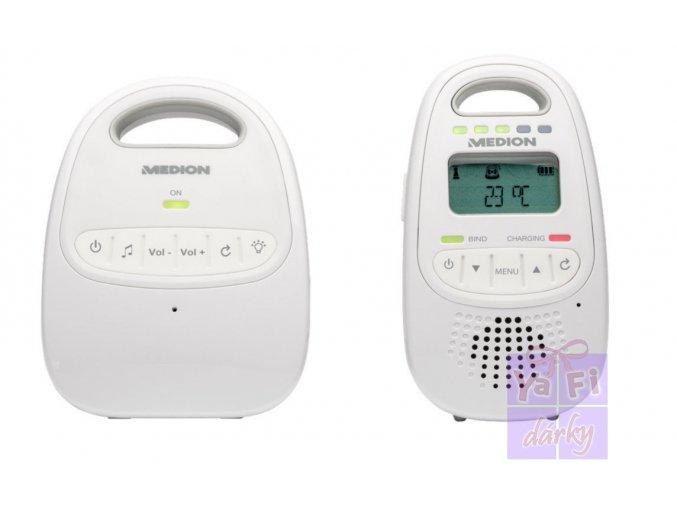 Dětská chůvička MEDION LIFE P67001 digitální baby monitor