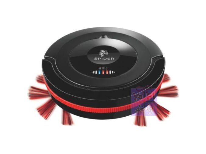 Robotický automatický vysavač bezsáčkový Dirt Devil M 607