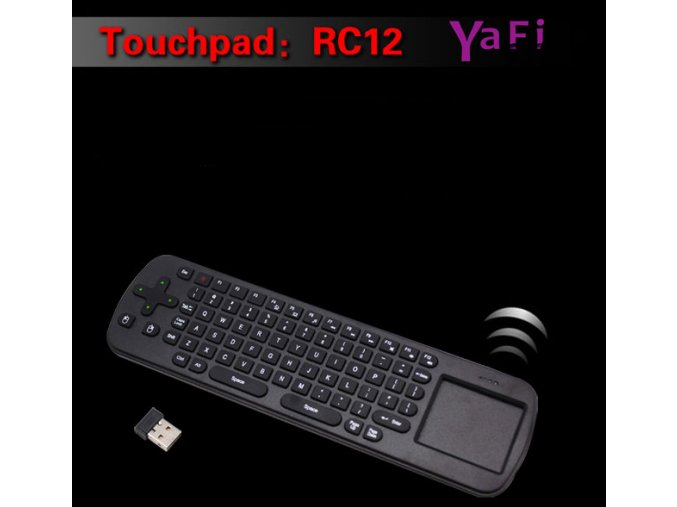 Measy RC12 2-in-1 Touchpad, klávesnice, myš pro mini PC android