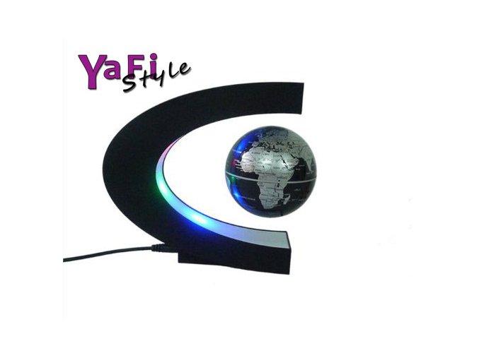 Levitující globus, magnetická zeměkoule, půlměsíc