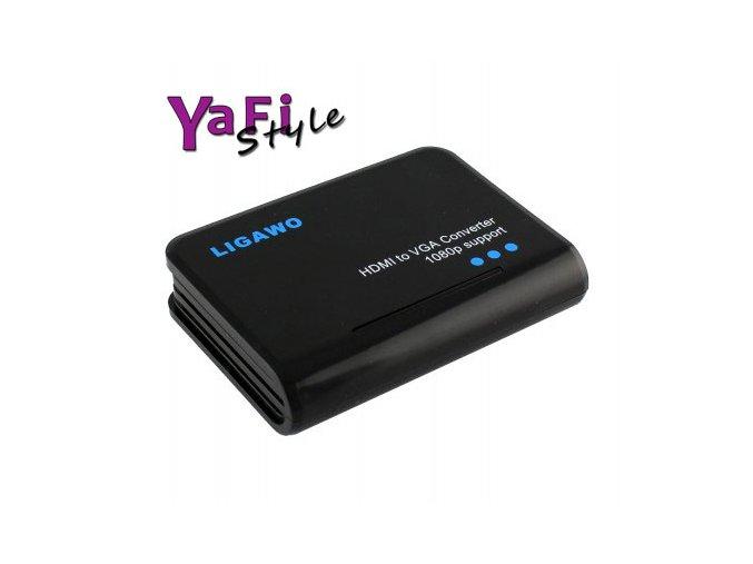 Převodník HDMI na VGA pro PS3,WII,DVD na monitor