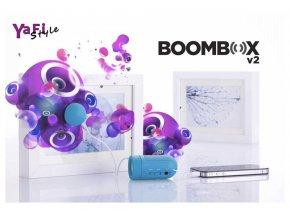 Mini přenosné Boombox V2 vibrační repro, reproduktor