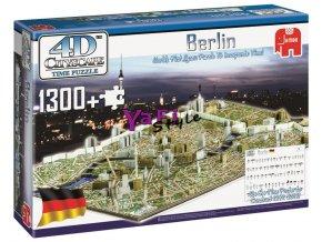 4D Cityscape Time puzzle Berlín, 1.300 dílků