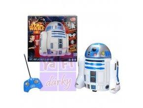 Nafukovací RC Star Wars R2-D2 na dálkové ovládání