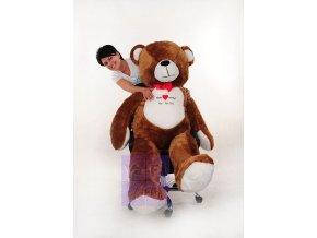 XXL dětský obrovský medvěd plyšový 190 cm vysoký