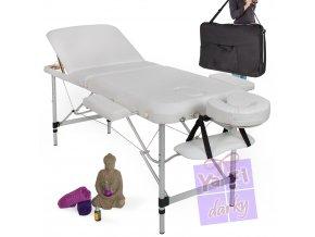 Třídílný masážní stůl, kosmetický stůl, mobilní stůl