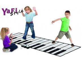 Hrací podložka koberec-velké piáno klavír 2,6m MP3