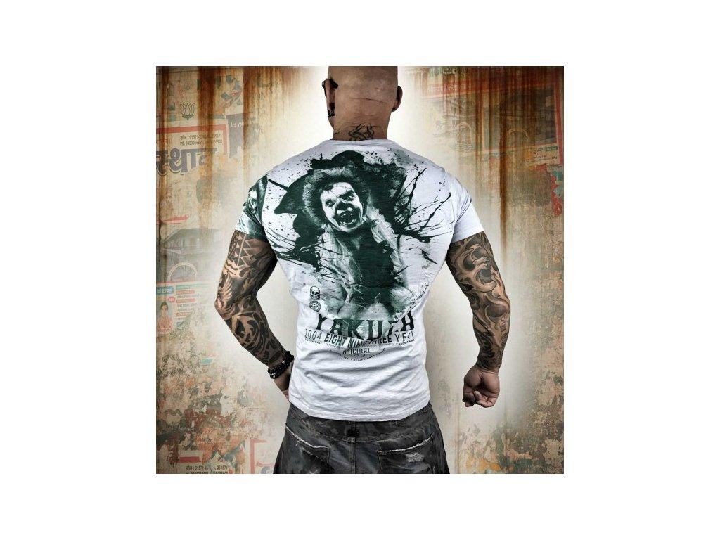 Yakuza tričko pánske YENT TSB 10007 gray dawn