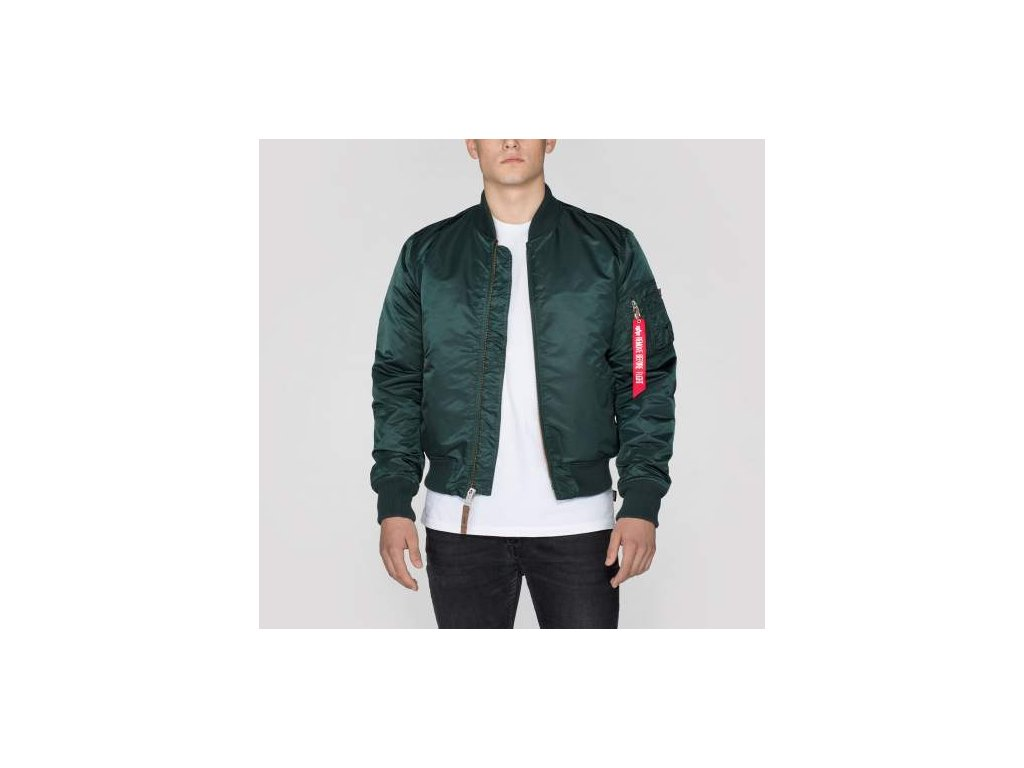 Alpha Industries MA-1 VF 59 Dark Petrol bunda pánska