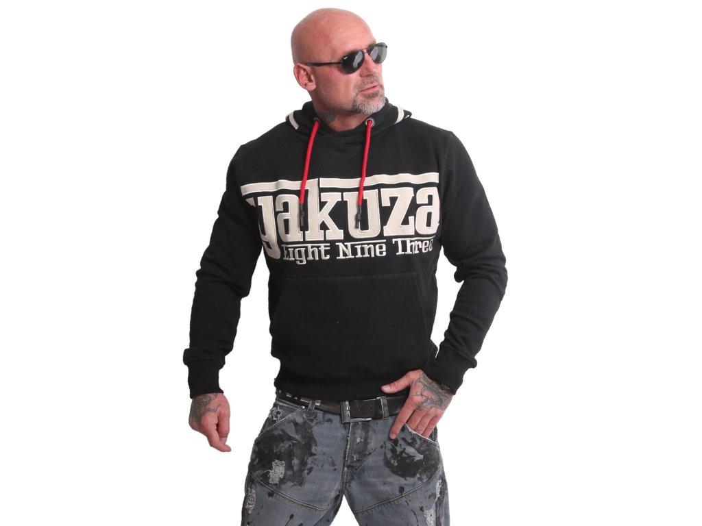 Yakuza SF APP mikina pánska HOB 17007 black