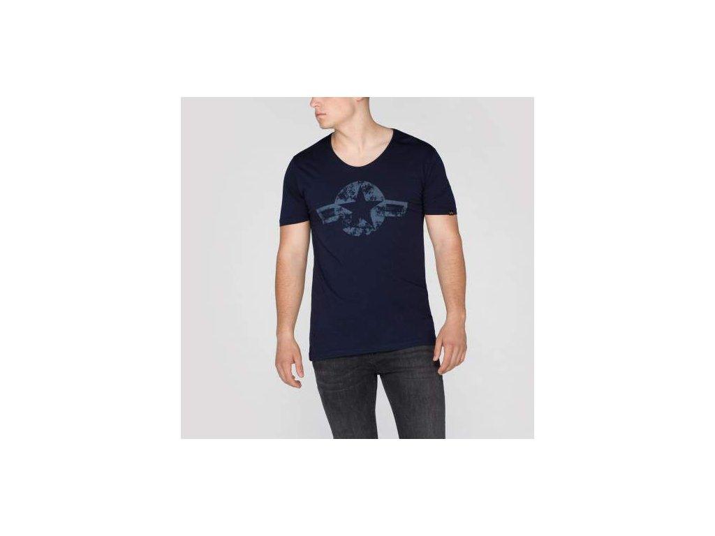 Alpha Industries USAF T II Rep Blue tričko pánske