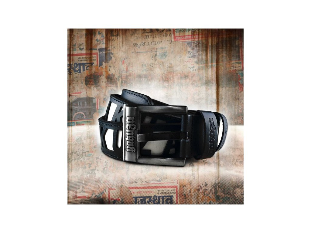 Yakuza opasok Label Leather GB 10203 black