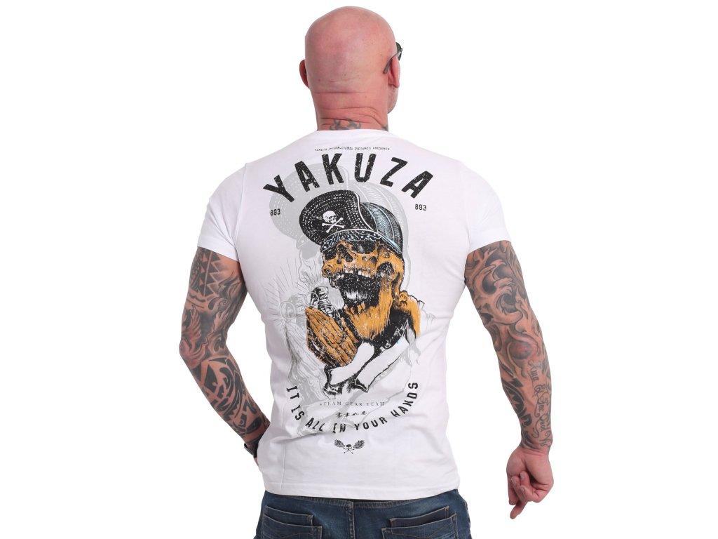 Yakuza WEY tričko pánske TSB 17035 white
