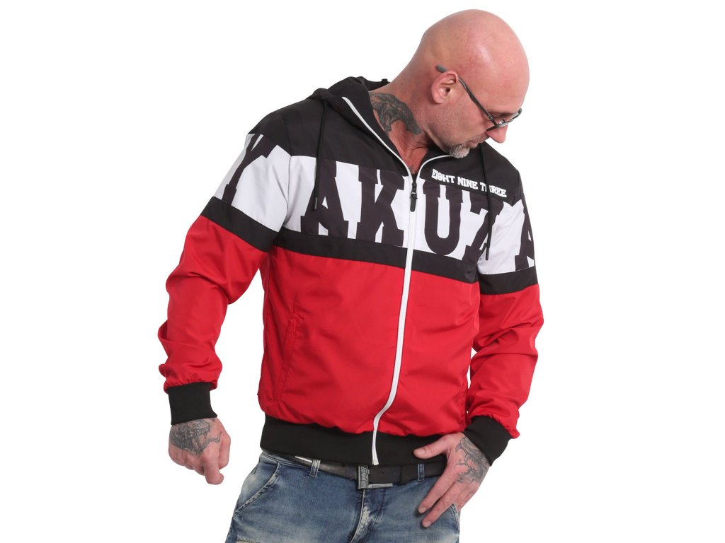Yakuza bunda TRI STAR WINDBREAKER WB 18032 red