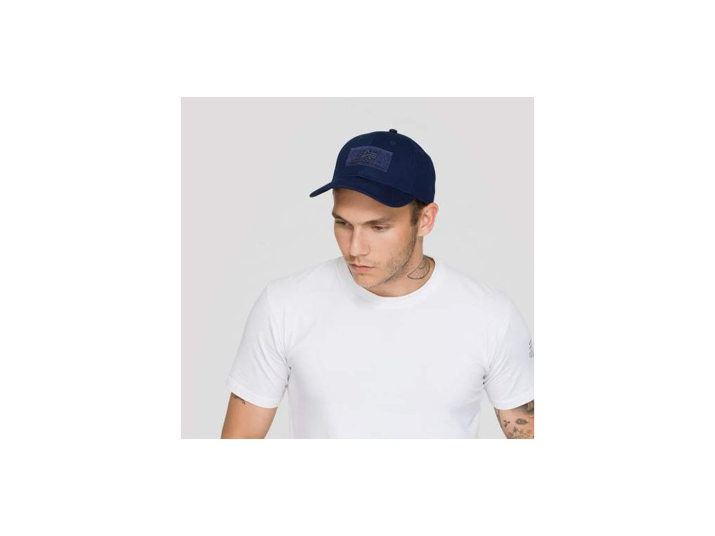 Alpha Industries VLC Cap šiltovka rep blue