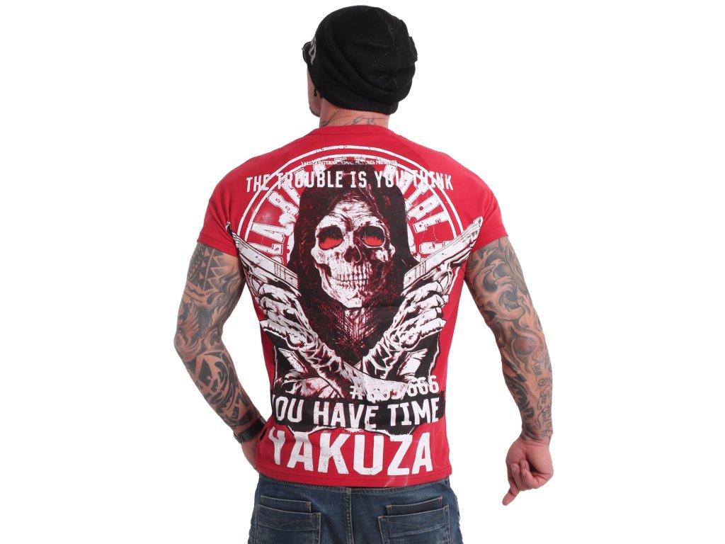 Yakuza TROUBLE tričko pánske TSB 18075 adrenaline rusch