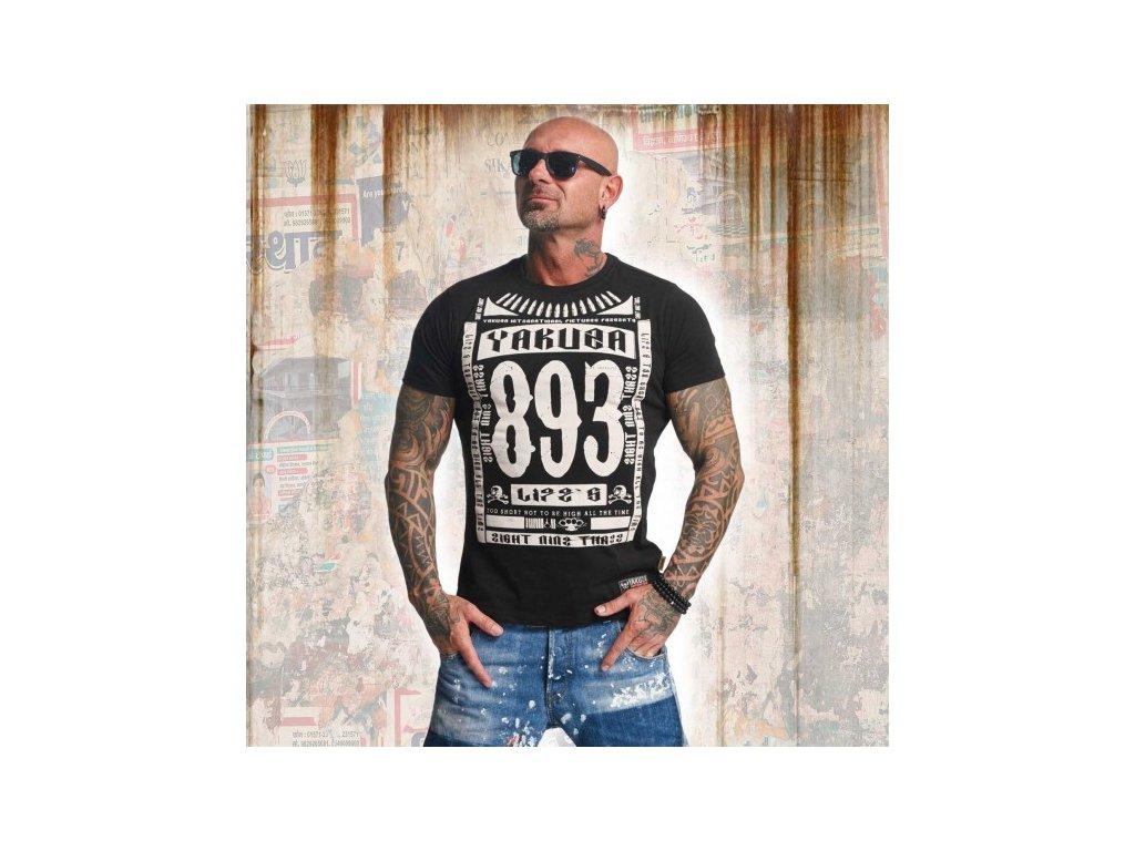 Yakuza tričko pánske LIFE TSB 11040 Black