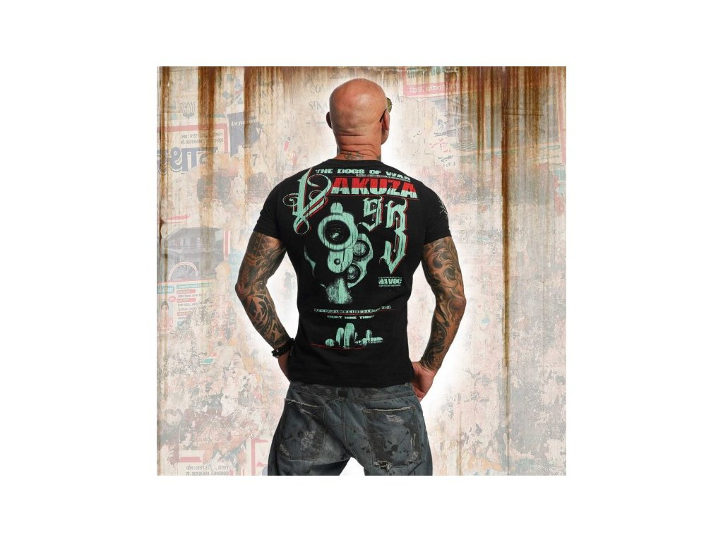 Yakuza tričko pánske HAVOC TSB 11037 Black