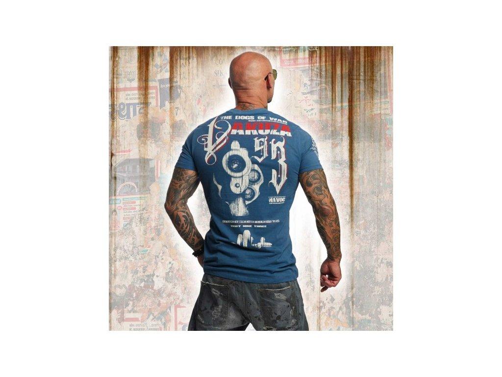 Yakuza tričko pánske HAVOC TSB 11037 mallard blue