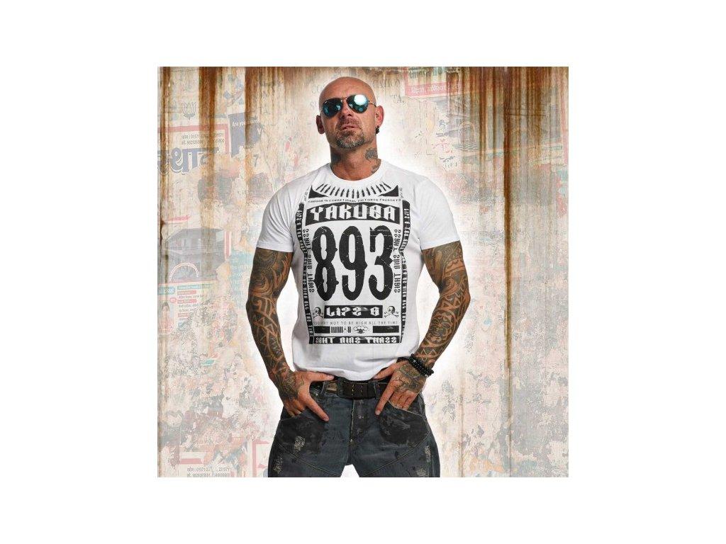 Yakuza tričko pánske LIFE TSB 11040 white