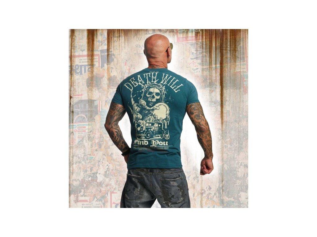 Yakuza tričko pánske DEAD WILL FIND YOU TSB 11050 jasper