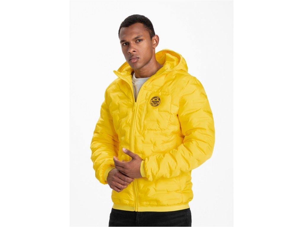 PitBull West Coast zimná bunda FIRESTONE yellow