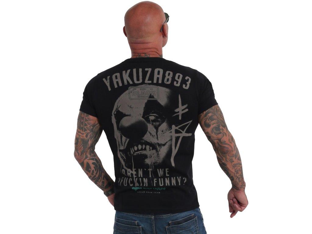 Yakuza tričko pánske Funny Clown TSB 19032 black