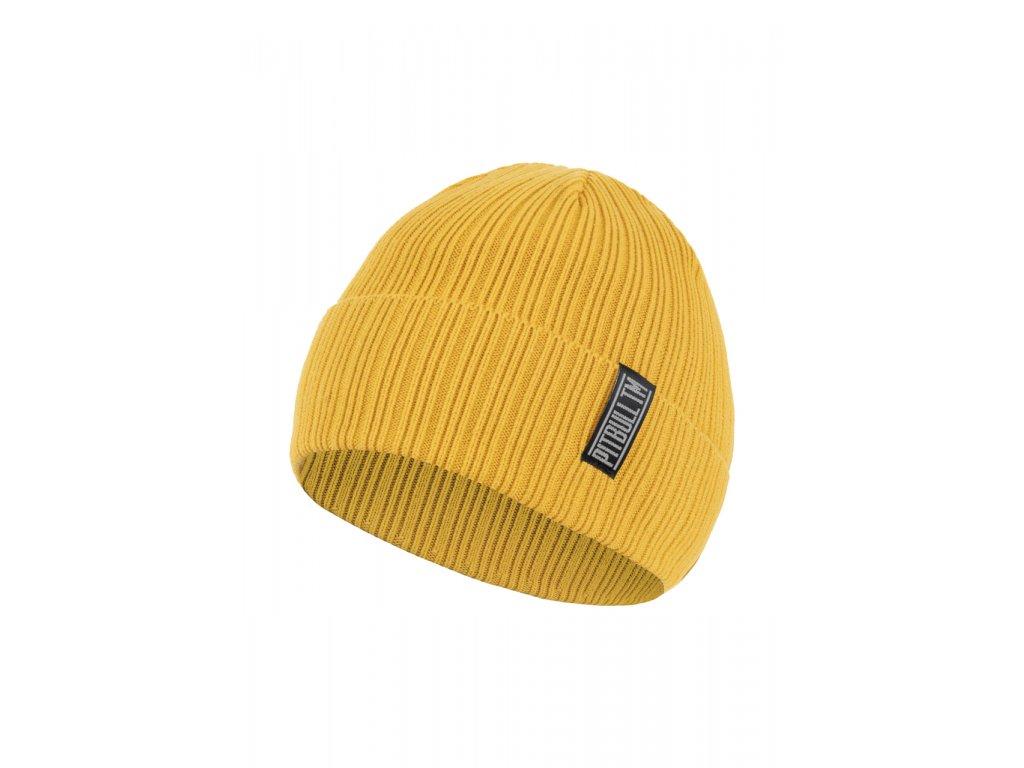 Pitbull West Coast zimná čiapka pletená SILVAS medová