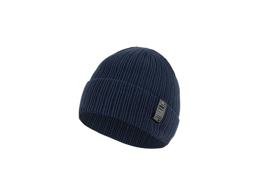 Pitbull West Coast zimná čiapka pletená SILVAS dark blue