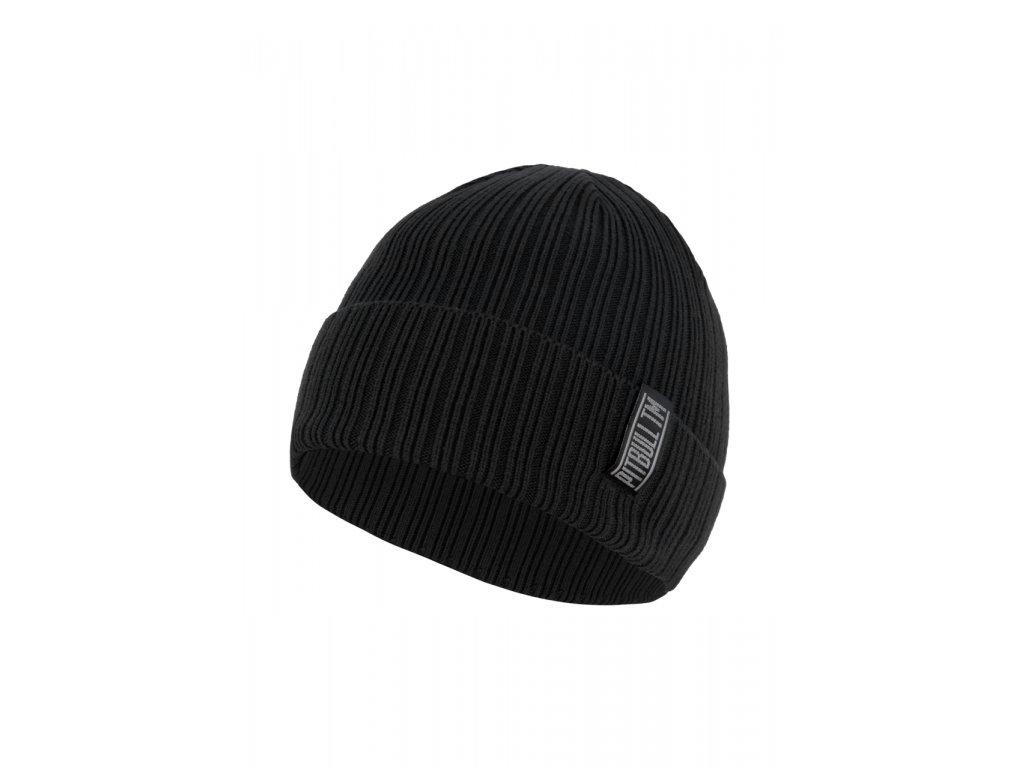 Pitbull West Coast zimná čiapka pletená SILVAS black