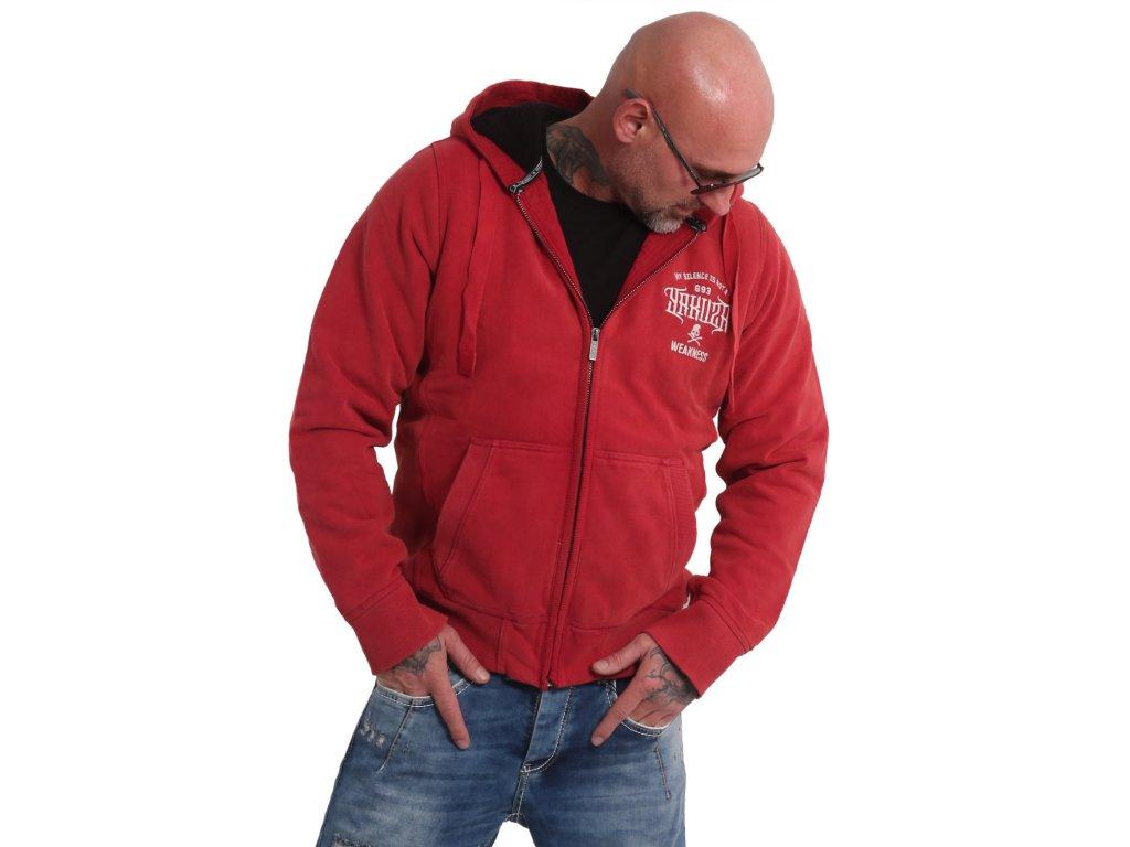 Yakuza zimná bunda pánska SILENCE JACKET WJB 16052 chili peper