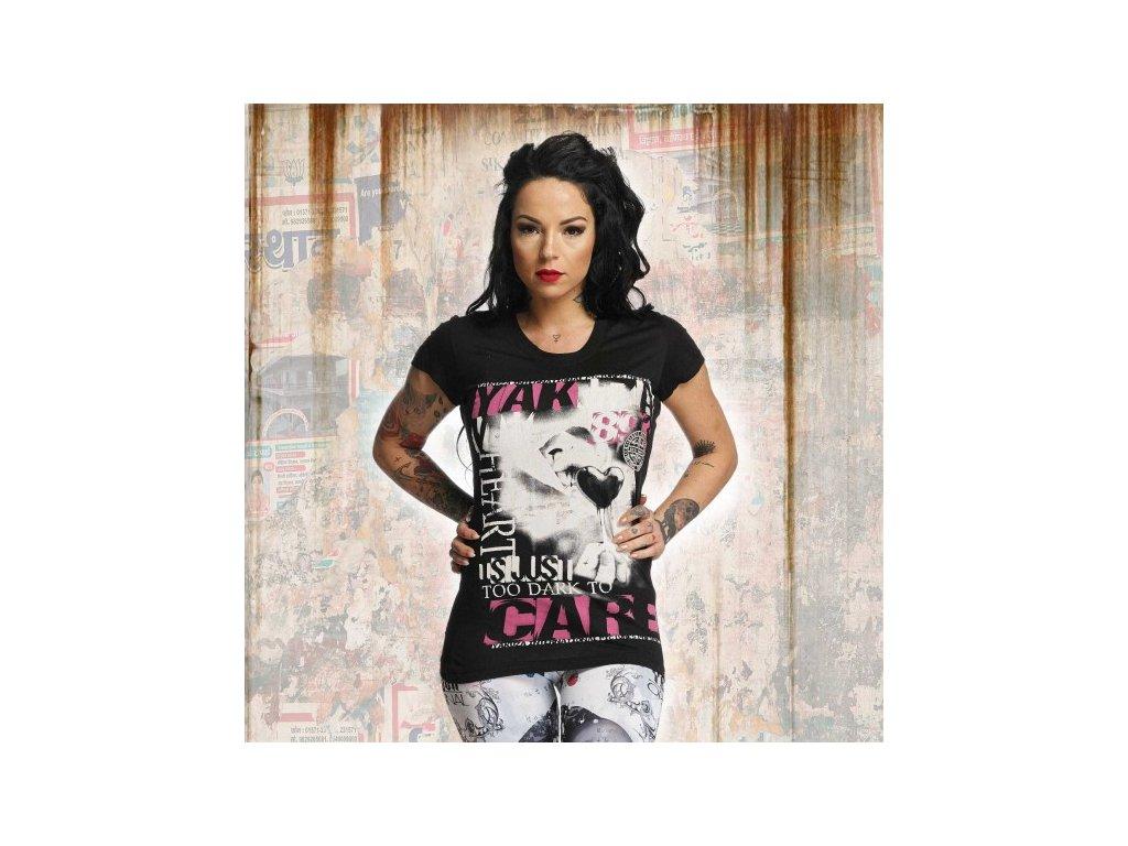 Yakuza CARE dámske tričko GSB 11122 black