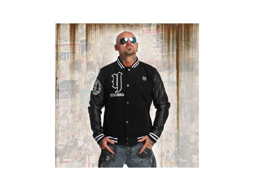 Yakuza CROSS BONES College jacke bunda pánska JB 11023 black
