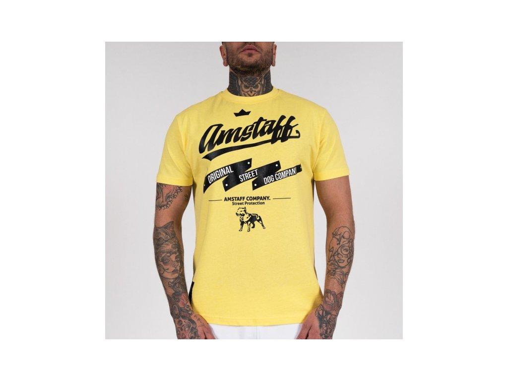 Amstaff tričko YARROW yellow