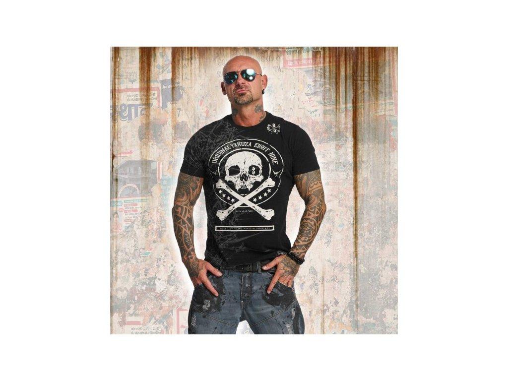 Yakuza tričko pánske THORNS TSB 11044black