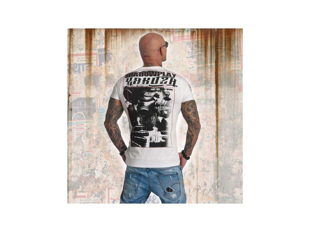 Yakuza tričko pánske SHADOWPLAY TSB 11032 white
