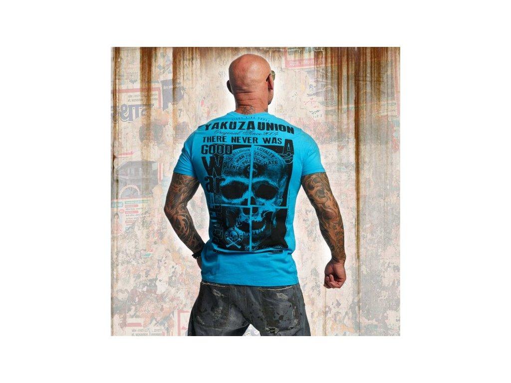 Yakuza tričko pánske UNION TSB 11041 algiers blue