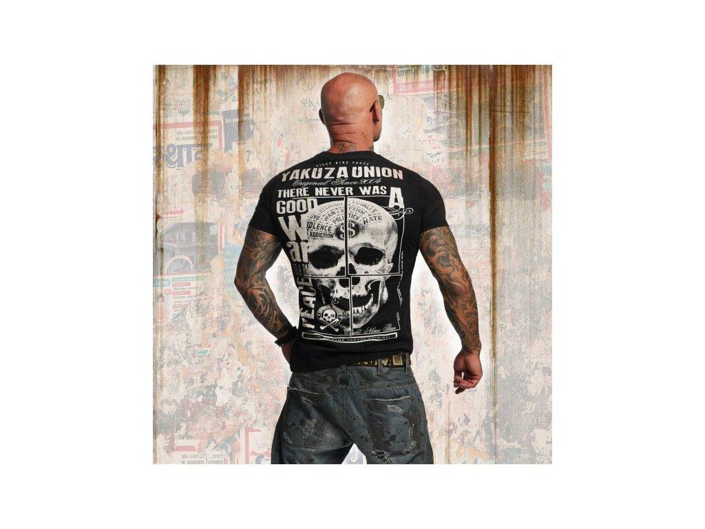 Yakuza tričko pánske UNION TSB 11041 black