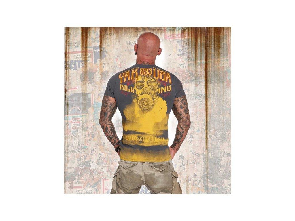 Yakuza tričko pánske FALLOUT TSB 12017 ebony