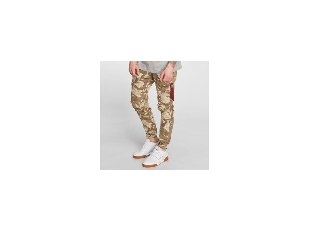 Alpha Industries nohavice Fuel C Pant desert camo
