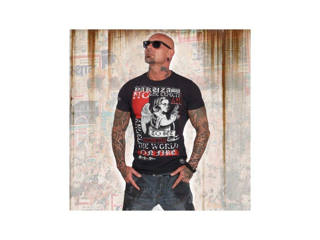 Yakuza tričko pánske NO ONE TSB 12001 black