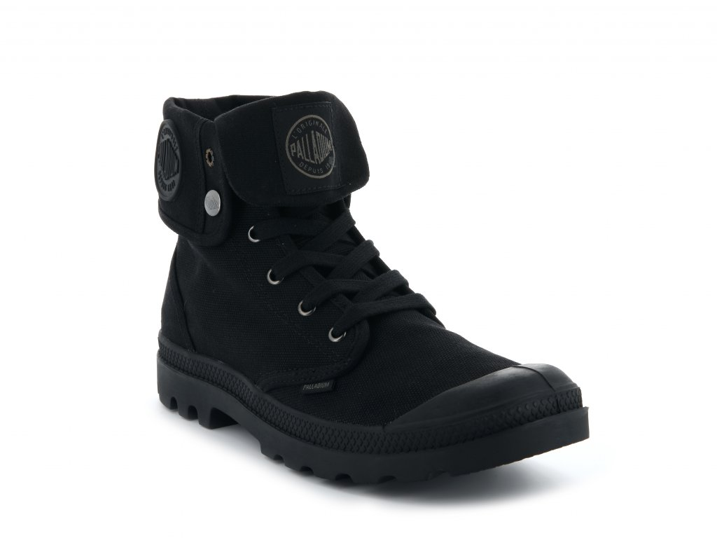 Palladium módne topánky US BAGGY W H-BLACK/BLACK Palladium módne topánky US BAGGY W H BLACKBLACK