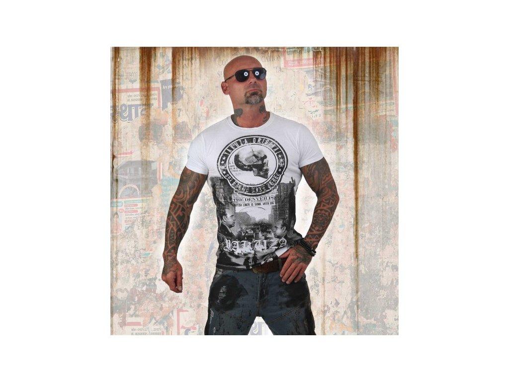 Yakuza tričko pánske ITALIAN JOB TSB 12016 white