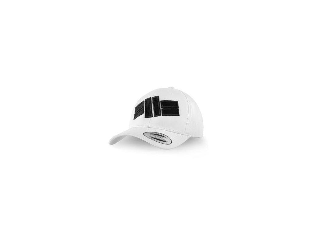 PitBull West Coast šiltovka CLASSIC LOGO FRONT snapback white